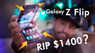 Galaxy Z Flip Durability Review: The Truth...