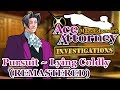 Pursuit ~ Lying Coldly (REMASTERED) - Miles Edgeworth: Ace Attorney Investigations