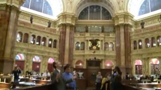 Mannequin Challenge in the Library of Congress