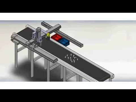 Automatic Weld nuts inspection machine