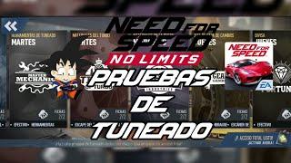 Need For Speed No Limits Android Pruebas de Tuneado #1