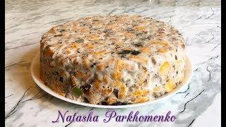 ПРОСТЕЙШИЙ ТОРТ БЕЗ ВЫПЕЧКИ / Торт из Печенья / Without Baking Cake Recipe