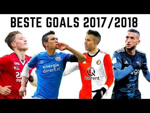 Top 50 goals eredivisie 2017/2018