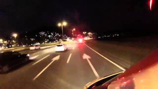 Ambulance - emergency rescue, driving at high speed