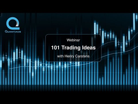 Webinar: 101 Trading Ideas