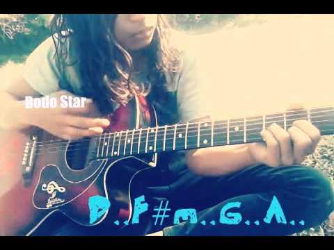Shijousa-Oblasw Guitar lesson(Bodo Star)