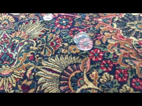 Artistic Rug Care | 1920 Kerman rug with Fiber ProTector