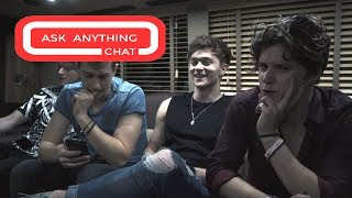 "The Vamps Talk About Their Underwear & ""Tradley"". Watch Part 3"