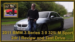 Review and Virtual Video Test Drive In Our 2011 BMW 3 Series 3 0 325i M Sport 2dr YC60UVY