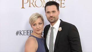 "Brett Dalton and Melissa Trn ""The Promise"" Premiere Red Carpet"