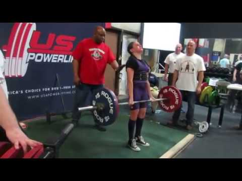 12 year old Anna DeCaprio deadlifts 253 5 lbs