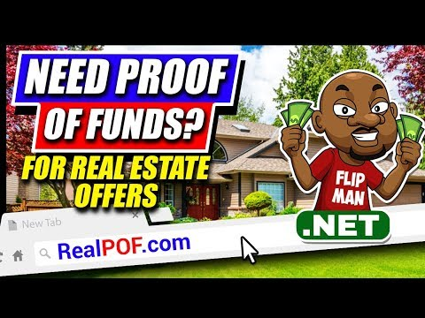 Proof Of Funds Letter | Get Your Offers Accepted | Realpof.Com