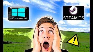 Windows 10 vs Linux; SteamOS (Final inesperado) CSGO 2/2 thumbnail