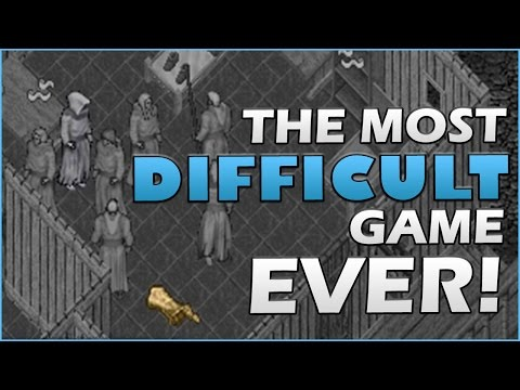 Ultima Online Gameplay | THE MOST DIFFICULT GAME EVER!