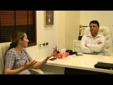 "Ms. Ketevan Bochorishvili meet Indian Producers for Kumar Mangat  ""Filming in Georgia"""
