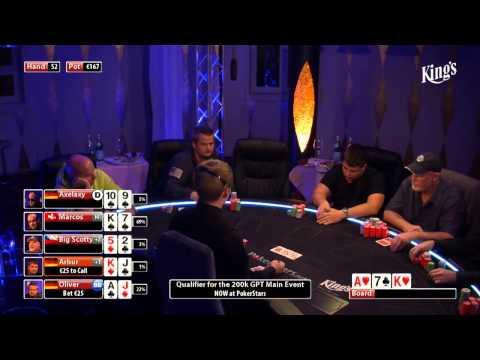 CASH KINGS E26 1/2 - CZ - NLH 2/5 ante 5 - Live cash game poker show - Big Scotty