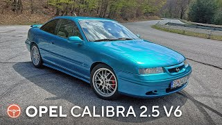 Jozefov Opel Calibra 2.5 V6 Cliff Motorsport Edition - volant.tv
