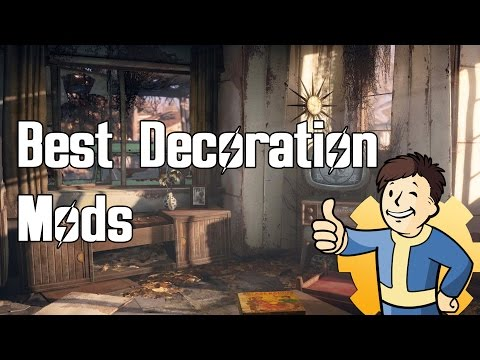 Fallout 4 - Top Decoration Mods