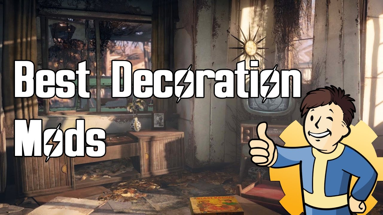 Fallout 4 - Top Decoration Mods