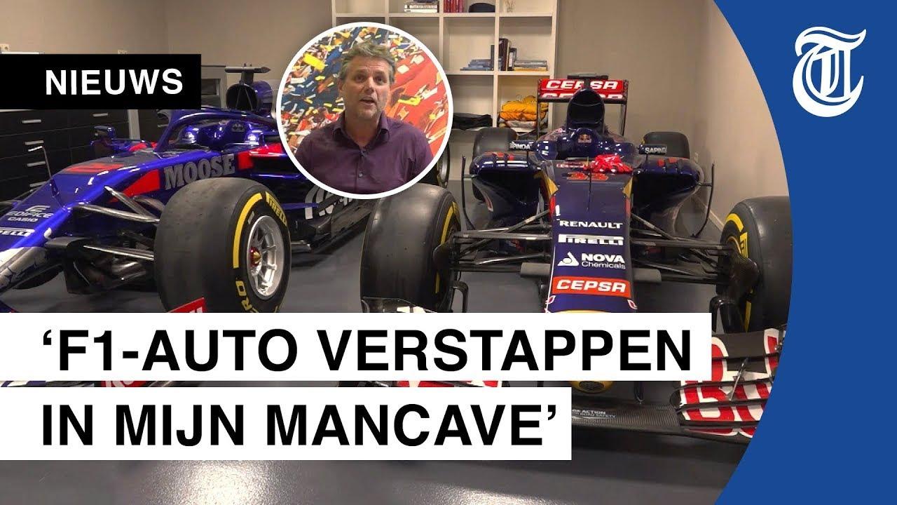 Ron heeft meerdere F1-auto's in bezit: 'Dure hobby'