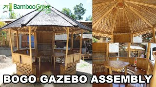 Bamboo Grove Furniture - Bogo Gazebo Assembly