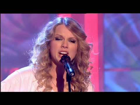Taylor Swift - Teardrops On My Guitar 8.05.09 Live Paul O´Grady Show