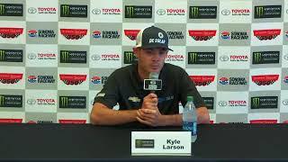 Kyle Larson talks NASCAR road-course racing