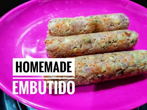 Homemade Embutido | Filipino Food