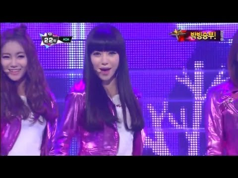 AOA_Get out(Get out by AOA@Mcountdown 2012.11.01)