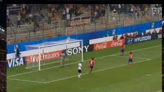 The Most Unusual Penalty Ever - Germany V South Korea  Women
