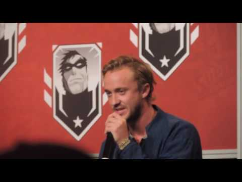 Tom Felton talking about Alan Rickman @ Montreal Comic Con 2016