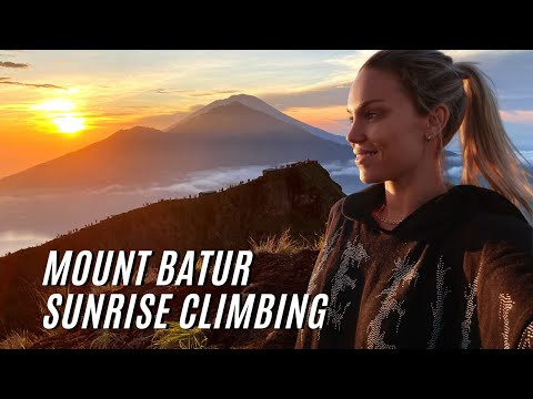 Sunrise Climbing Of ACTIVE VOLCANO MOUNT BATUR In BALI (highly Recommend!) | Bali Travel Vlog