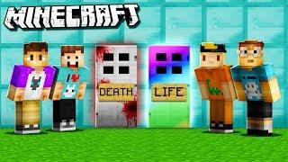 Baixar LIFE DOOR vs. DEATH DOOR! (The Pals Minecraft)