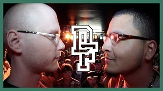 NILS M SKILS VS UNO LAVOZ | Don't Flop Rap Battle