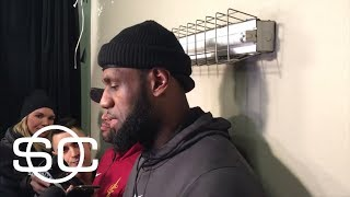 LeBron James saying he's not thinking about retirement   SportsCenter   ESPN