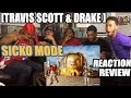 TRAVIS SCOTT FT DRAKE - SICKO MODE REACTION/REVIEW ASTROWORLD