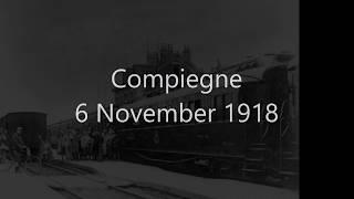 Compiegne 6 November 1918