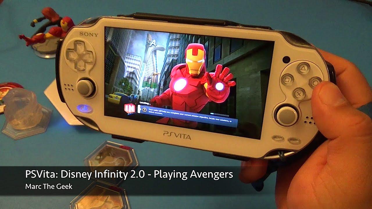 Psvita Disney Infinity 2 0 Avengers Play Set Youtube
