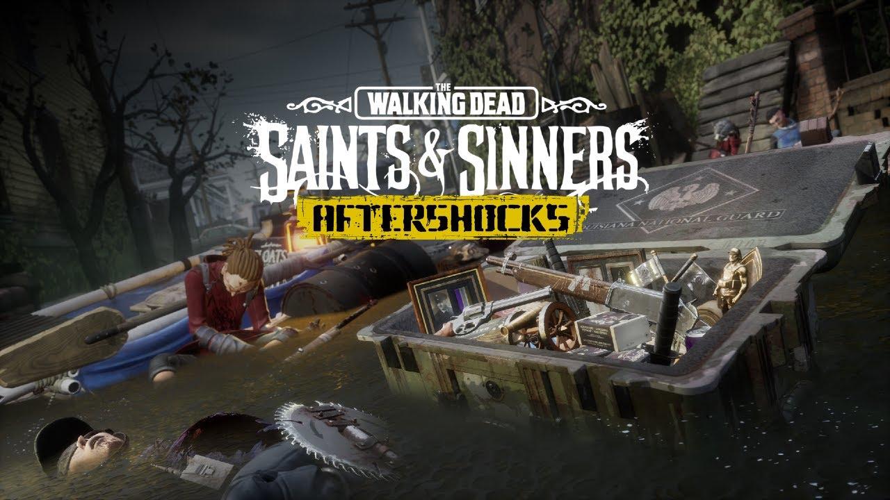 The Walking Dead: Saints and Sinners l Aftershocks Announce Trailer | Oculus Quest + Rift Platforms
