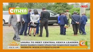 Some leaders claiming President Uhuru has neglected Central region