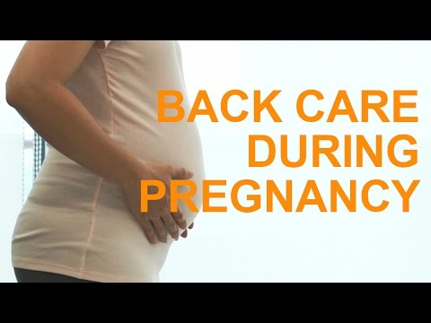 Pregnancy: Tips to Reduce Back Pain