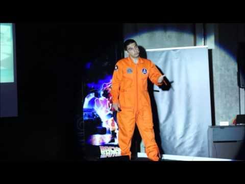 Astronot Olma Yolunda Halil Kayıkcı Tedxgündoğdukoleji Youtube