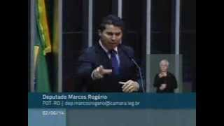 Deputado Marcos Rogério alerta para perigos do novo Código Penal.