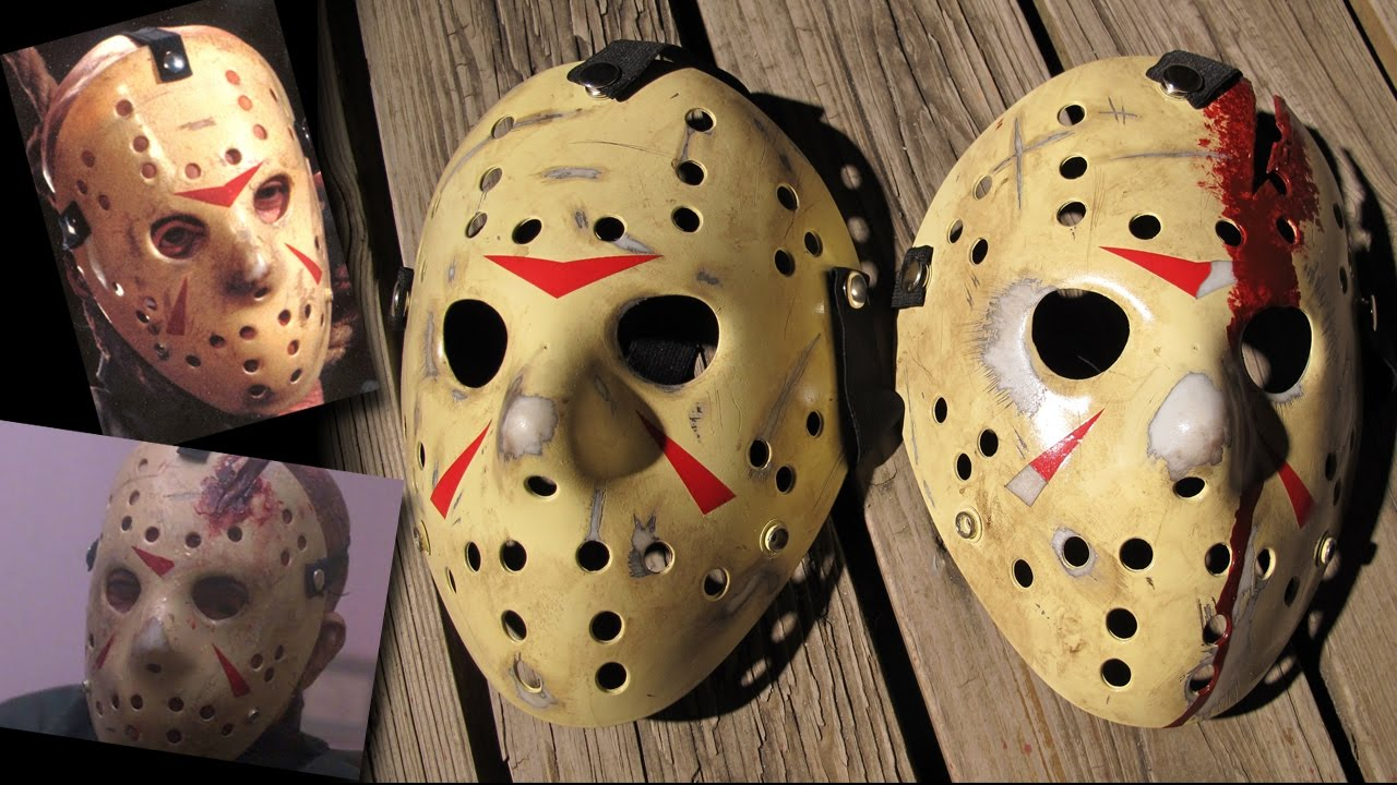 How To Make Friday The 13th Part 3 And 4 Jason Masks