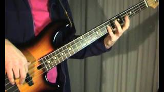 Smokie - Lay Back In The Arms Of Someone - Bass Cover