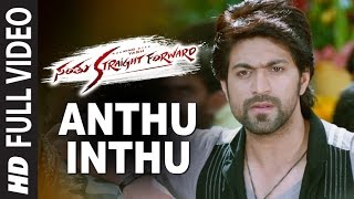 Anthu Inthu Full Video Song || Santhu Straight Forward || Yash, Radhika Pandit
