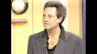 "Christopher Walken on Japanese TV Show (1991) 笑っていいとも!クリストファー・ウォーケン、タモリ、関根勤 ""King of Newyork`"