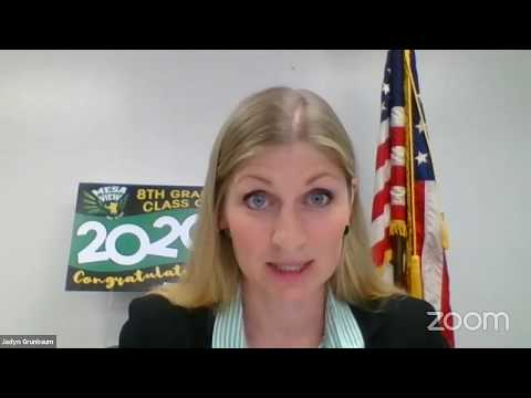 Mesa View 8th Grade Promotion - Virtual Ceremony