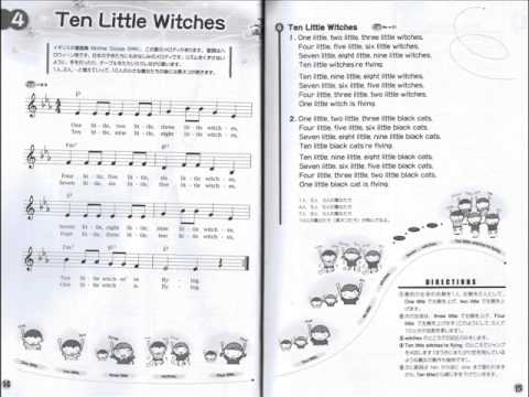 Ten little witches lyrics