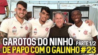 DE PAPO COM O GALINHO #23 PAQUETÁ, VINICIUS JR E VIZEU - PARTE 1/2 | Canal Zico 10